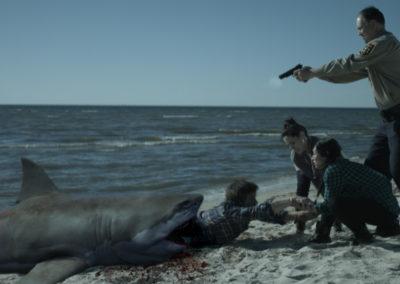 Zombie Shark Movie VFX still
