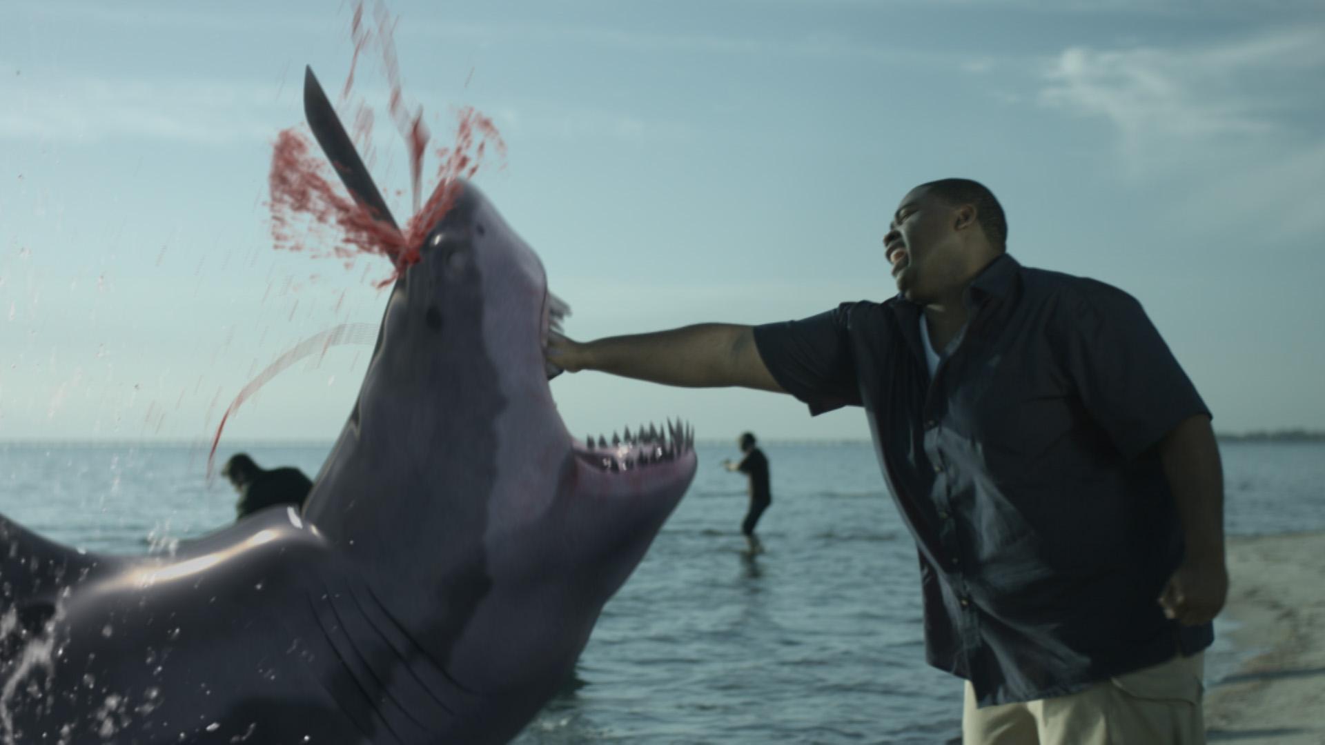 zombie shark vfx still